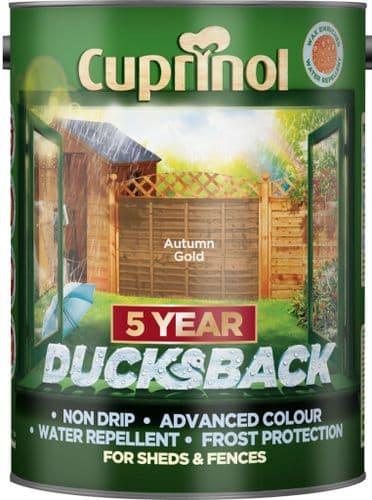 Cuprinol Ducksback 5L - Autumn Gold
